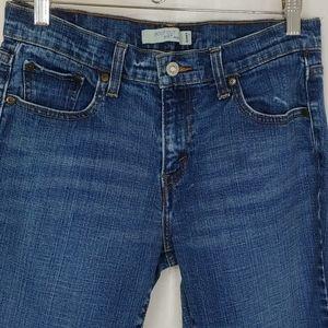 Levis 515 Boot Cut Dark Wash Jeans 8